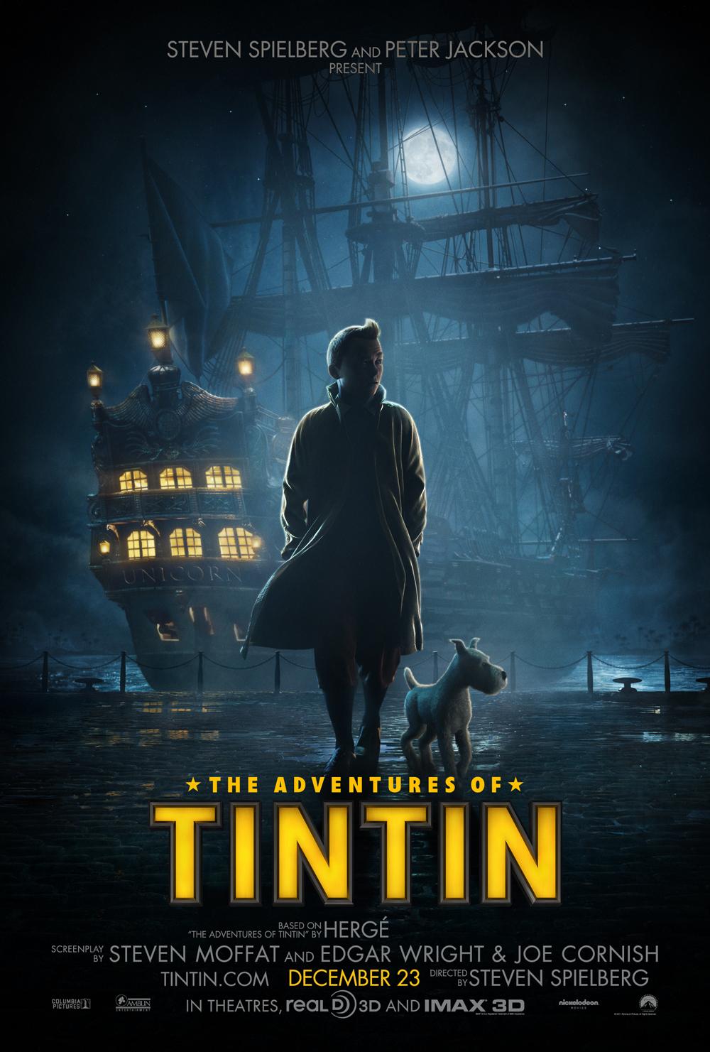 The Adventures of Tintin  CinemaFunk